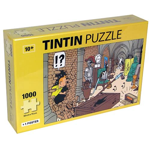 Adventures of Tintin Treasures at Marlinspike Puzzle