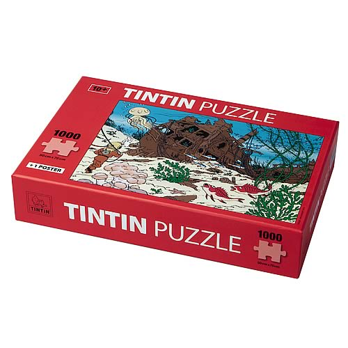 Adventures of Tintin Shipwreck of the Unicorn Puzzle