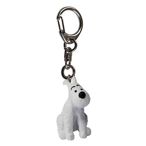 Adventures of Tintin Snowy Sitting Key Chain