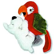 Adventures of Tintin Snowy and Parrot Plush