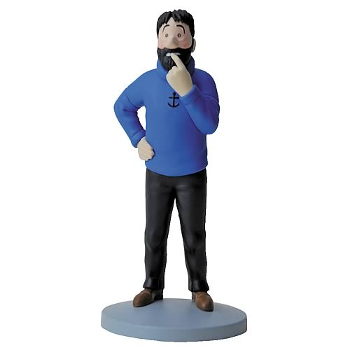 Adventures of Tintin Captain Haddock Mini-Statue