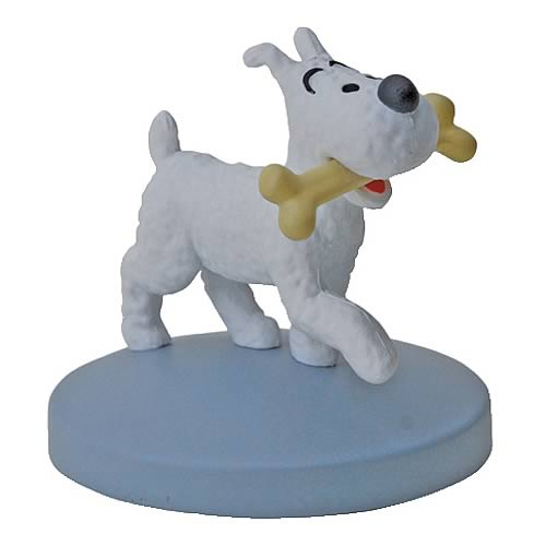 Adventures of Tintin Snowy Mini-Statue