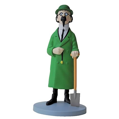 Adventures of Tintin Professor Calculus Mini-Statue