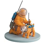 Adventures of Tintin Tintin and Snowy Cosmonaut Statue