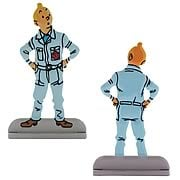Adventures of Tintin Destination Moon Statue