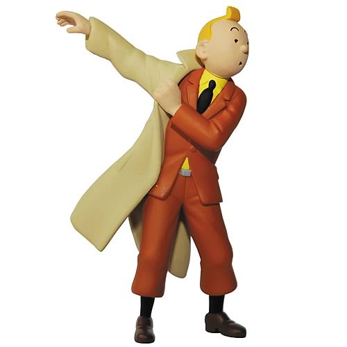 Adventures of Tintin Trenchcoat Tintin Mini-Figure