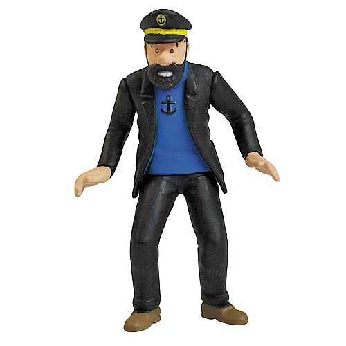 Adventures of Tintin Captain Haddock Mini-Figure