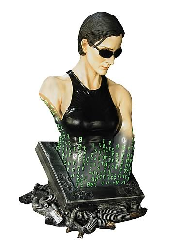 Matrix: Trinity Mini Bust