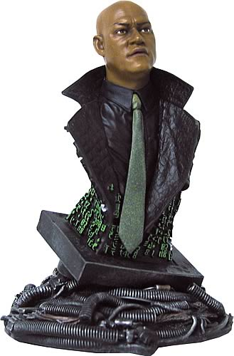 Matrix: Morpheus Mini Bust