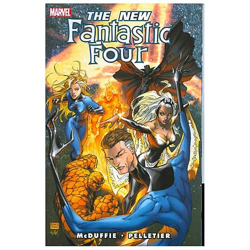 Fantastic Four New Fantastic Four Graphic Novel