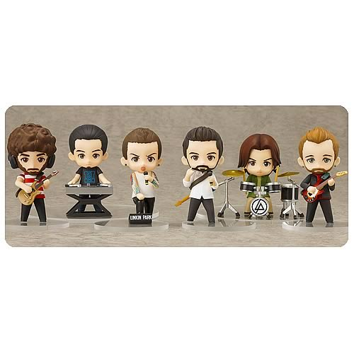Linkin Park Nendoroid Series Mini-Figure 6-Pack