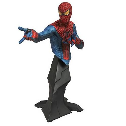Amazing Spider-Man Movie SDCC 2012 Exclusive Metallic Bust