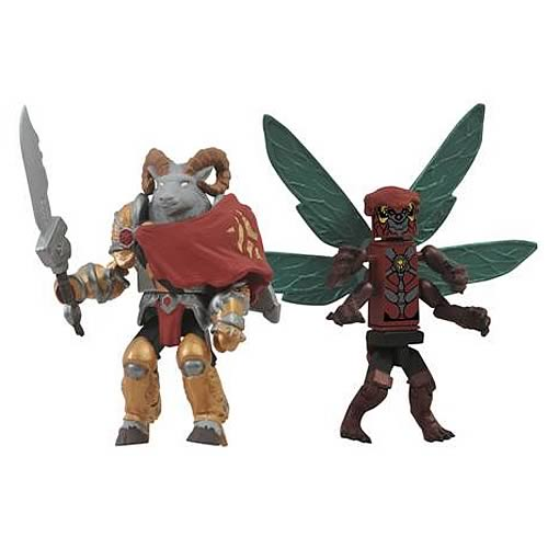 Battle Beasts SDCC 2012 Exclusive Minimates 2-Pack