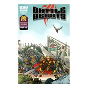 Battle Beasts #1 SDCC 2012 Exclusive Edition Comic Book