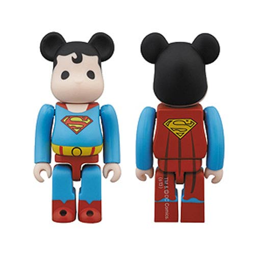 DC Super Powers Superman Bearbrick - SDCC 2013 Exclusive