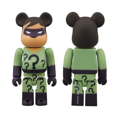 DC Super Powers Riddler Bearbrick - SDCC 2013 Exclusive