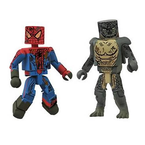 Amazing Spider-Man Movie Sewer SDCC 2012 Minimates 2-Pack