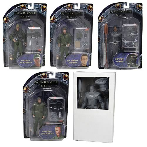 Stargate Action Figures Series 1 Core Assortment