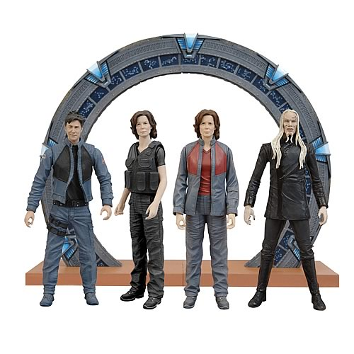 stargate atlantis action figures series 1, Stargate Atlantis figures, stargate atlantis action figures, Diamond Select