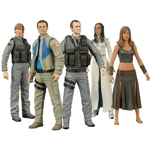 Stargate Atlantis Series 2 Action Figure Set