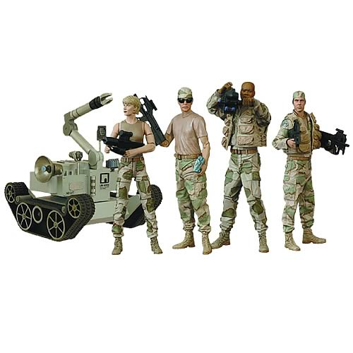 Stargate SG-1 Desert Combat Series 4 Action Figure Set