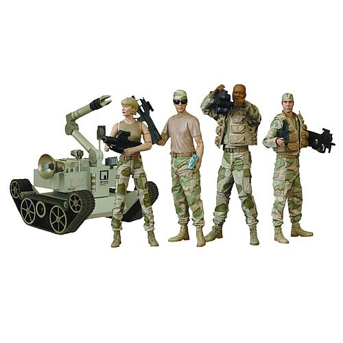 Stargate SG-1 Desert Combat Series 4 Action Figure Case