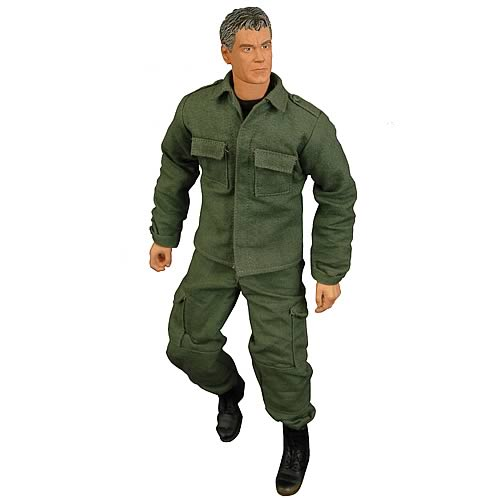 Stargate SG-1 Jack O'Neil Cloth 12-Inch Action Figure, Stargate, Action Figures, Diamond Select