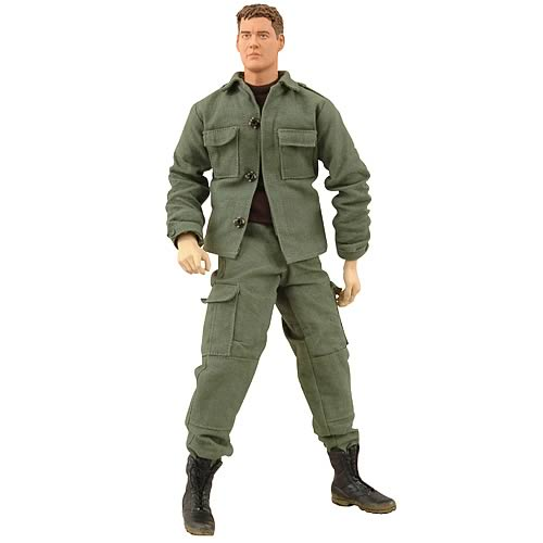 Stargate SG-1 Cameron Mitchell 12-Inch Cloth Figure