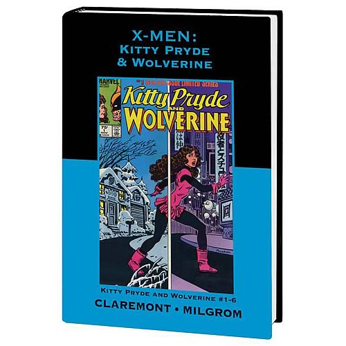 X-Men Kiity and Wolverine Premium Hardcover Graphic Novel