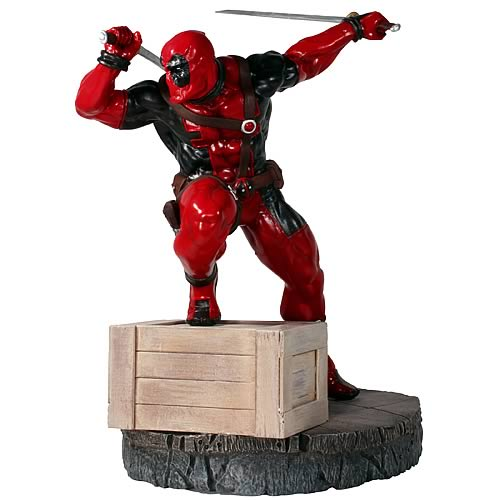 X-Men Deadpool Danger Room Sessions Fine Art Statue