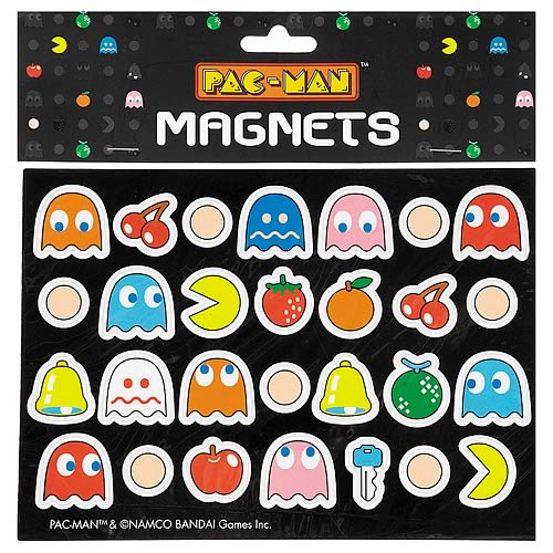 Pac-Man and Ghost Magnet 28-Pack