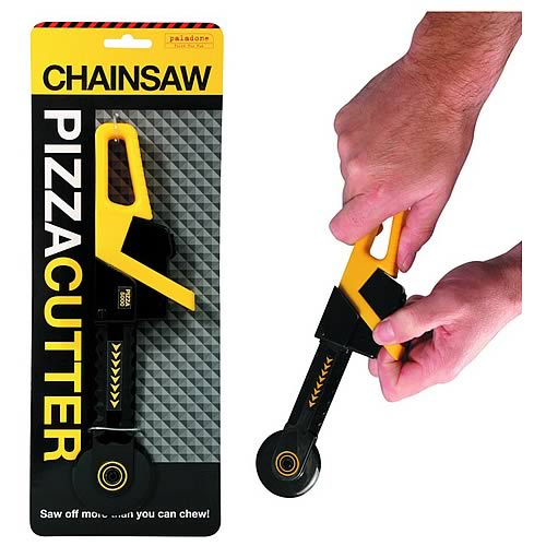 Chainsaw Pizza Cutter