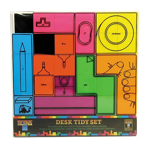 Tetris Stationery Desk Set