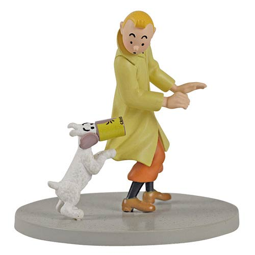Adventures of Tintin Empty Crab Tin Mini Statue
