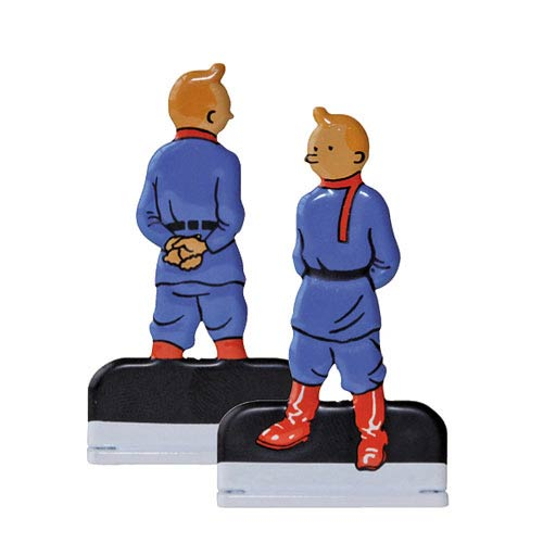 Adventures of Tintin Land of the Soviets Relief Statue