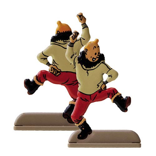 Adventures of Tintin Shooting Star Relief Statue