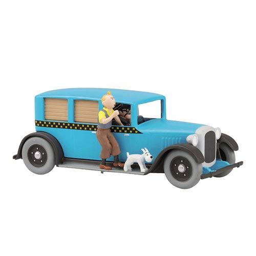 Adventures of Tintin American Taxi 1:43 Scale Statue