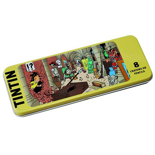 Adventures of Tintin Treasure of the Castle Pencil 8-Pack