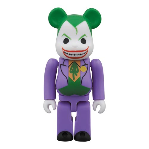 DC Super Powers Joker Bearbrick  - SDCC 2014 Exclusive