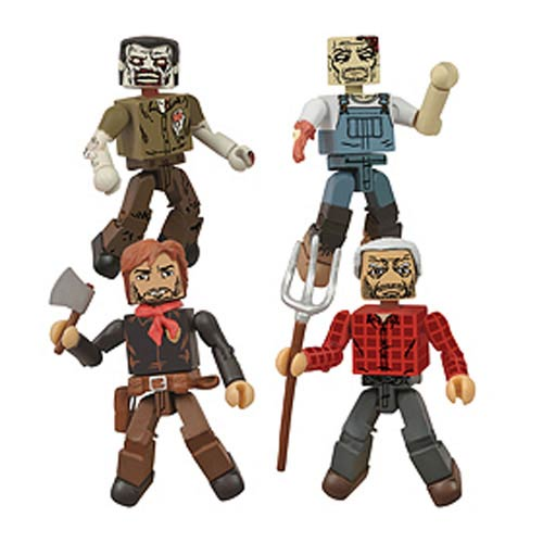 Walking Dead Hershel's Farm Minimates Box Set - SDCC Excl.
