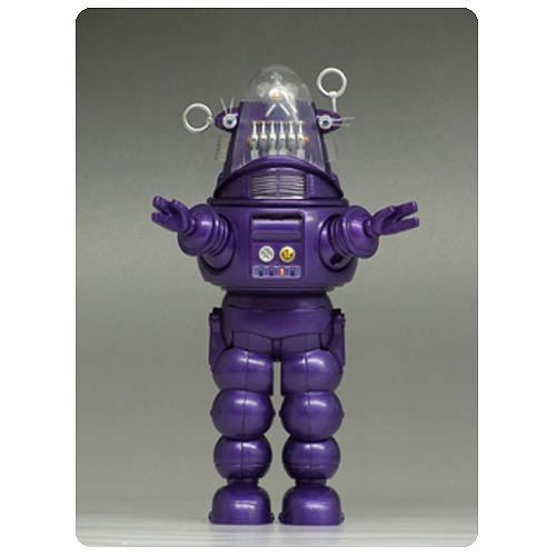 Forbidden Planet  Robby the Robot Purple Die-Cast Figure