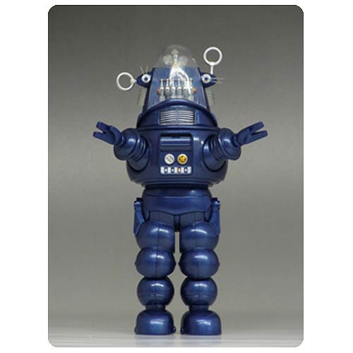 Forbidden Planet Robby the Robot Blue Die-Cast Figure
