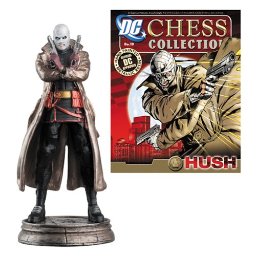 Batman Hush Black Pawn Chess Piece with Magazine
