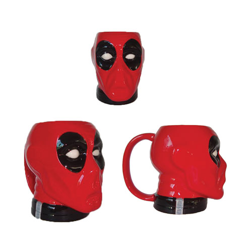 Deadpool Molded Head Mug - Previews Exclusive