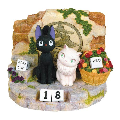 Kiki's Delivery Service Jiji and Riri Years Calendar
