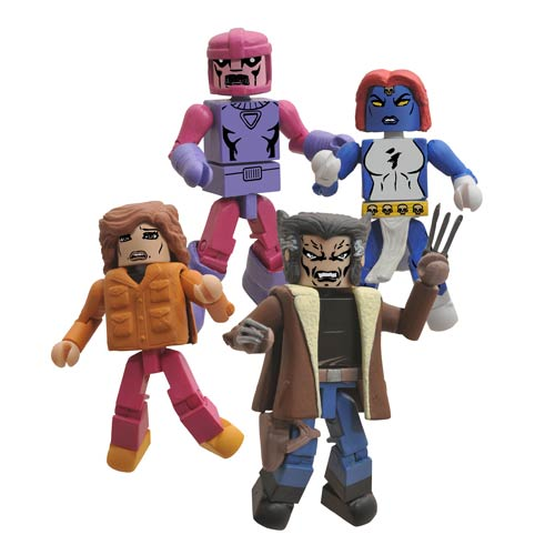 X-Men Marvel Days of Future Past Minimates - SDCC 2014 Exc.