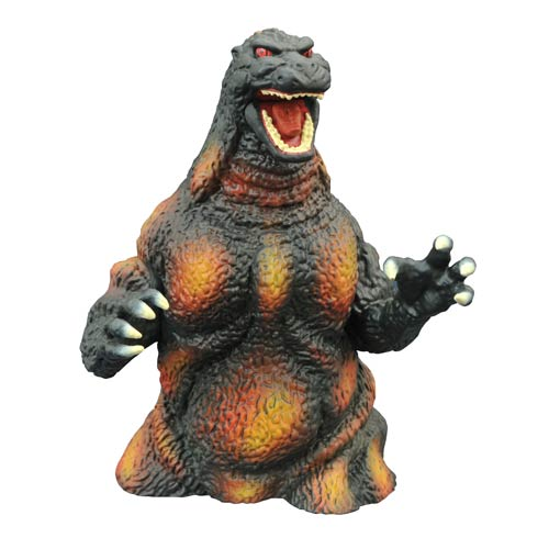 Godzilla Burning Bust Bank - SDCC 2014 Exclusive