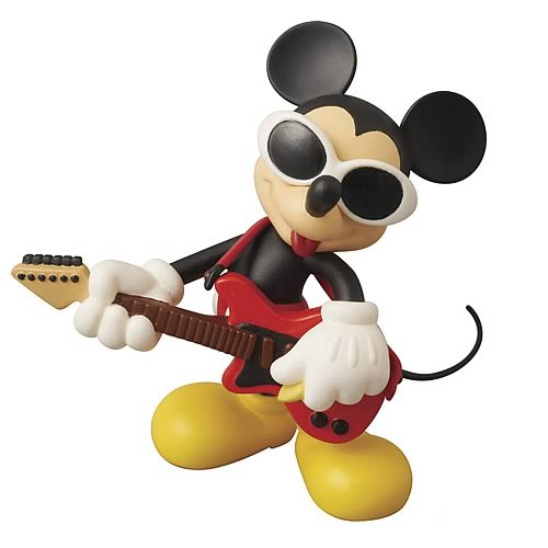 Disney X Roen Collection Grunge Rock Mickey Mouse Figure