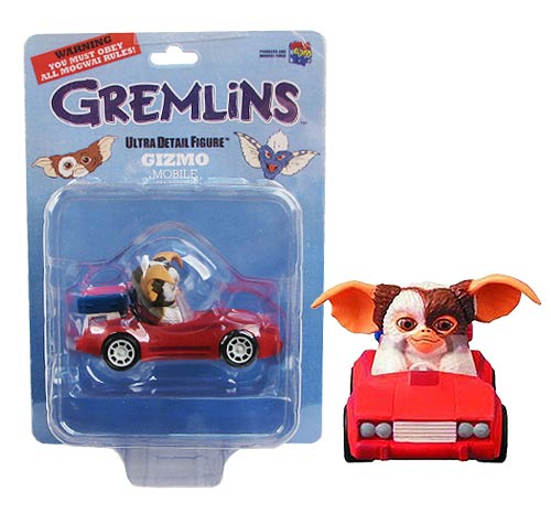Gremlins Mogwai Gizmo Mobile Red Car Ultra Detail Figure