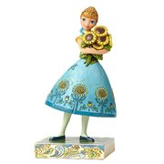 Disney Traditions Frozen Fever Anna Blue Dress Statue